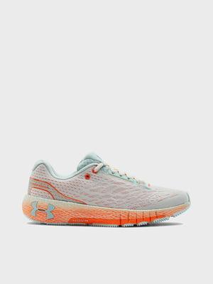 Кроссовки бирюзово-оранжевые | 5602586