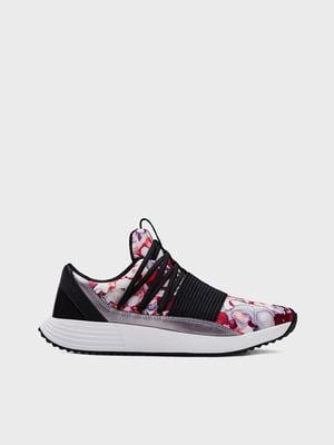 Кроссовки черные с принтом | 5602602