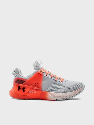 Кросівки сіро-помаранчеві | 5602607