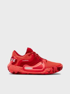 Кросівки червоного кольору UA Spawn 2 3022626-602   5602689