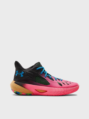 Кросівки рожево-чорні UA HOVR Havoc 3 3023088-602 | 5602734