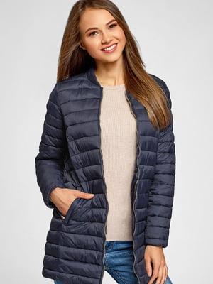 Куртка-бомбер синя   5602867