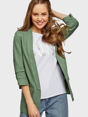 Жакет зеленый | 5602876