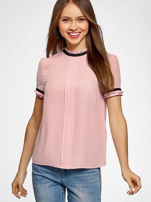 Блуза розовая | 5602879