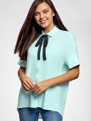 Рубашка бирюзовая | 5602883