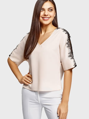 Блуза бежевая | 5602885
