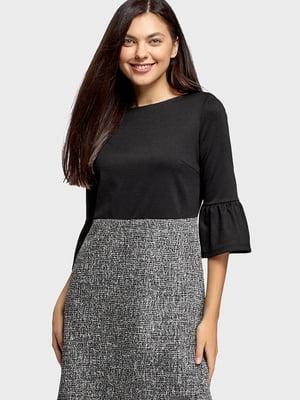Сукня чорно-сірого кольору | 5603042