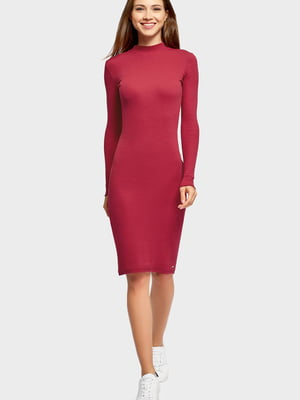 Платье бордовое | 5603075