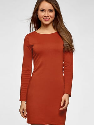 Сукня теракотового кольору | 5603081