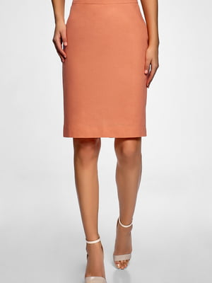 Юбка персикового цвета | 5603374