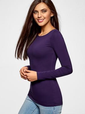 Лонгслив фиолетовый | 5603409
