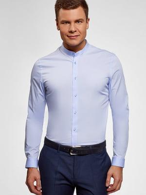 Сорочка блакитного кольору | 5603494