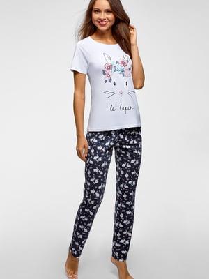 Піжама: футболка і штани | 5603551