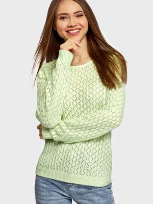 Джемпер салатового кольору   5603708