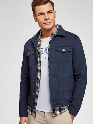 Куртка синя джинсова | 5603741