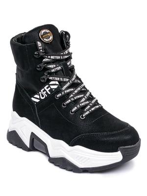Ботинки черные | 5598731