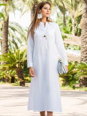 Платье пляжное белое   5601384