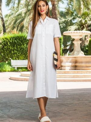 Сукня пляжна біла | 5601386