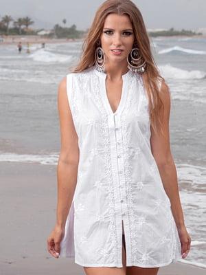 Туника пляжная белая | 5601178
