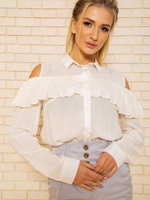 Блуза кремового цвета | 5604124