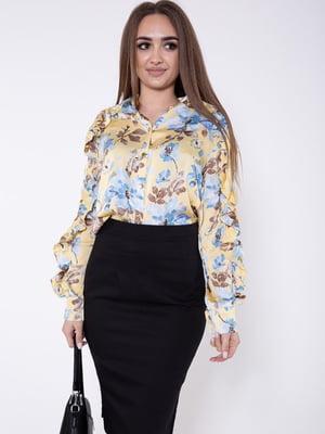 Блуза в принт | 5604126