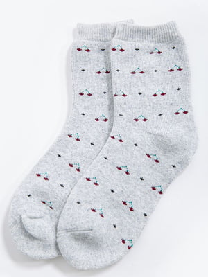 Шкарпетки сірі | 5604200