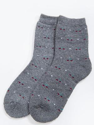 Шкарпетки темно-сірі   5604202