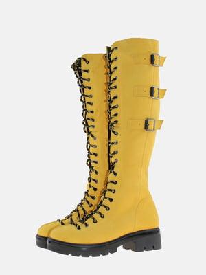 Чоботи жовті | 5603883