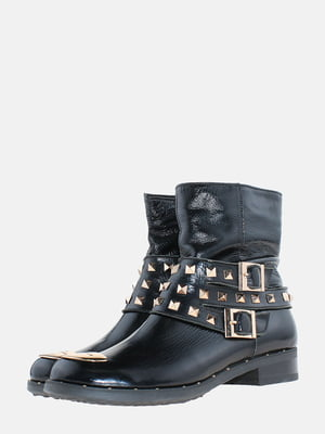 Ботинки черные   5605004