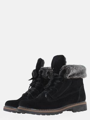 Ботинки черные   5605013