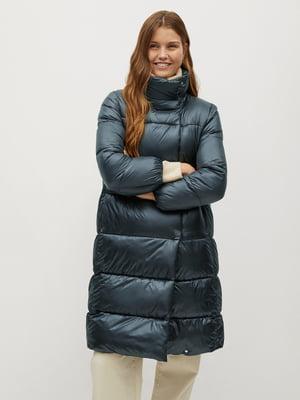 Куртка бірюзова | 5604372