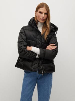 Куртка чорна | 5604393