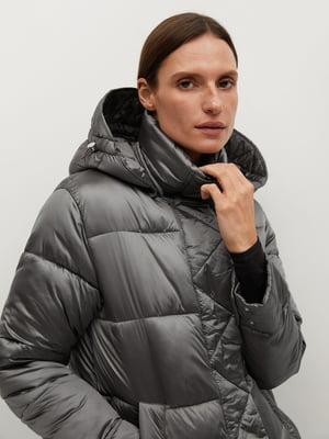 Куртка сріблястого кольору | 5604432