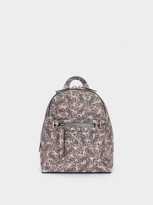 Рюкзак в принт | 5604875