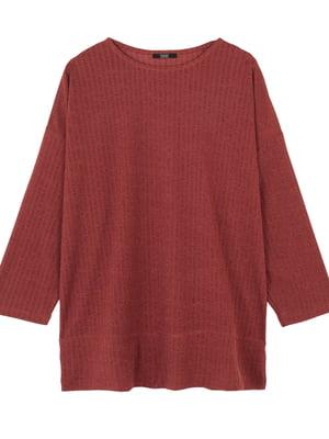 Блуза теракотового кольору | 5604945