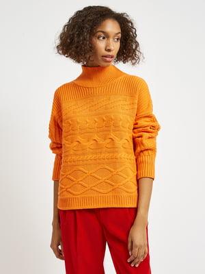 Светр помаранчевого кольору | 5605124