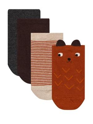Комплект шкарпеток (4 пари) | 5606113