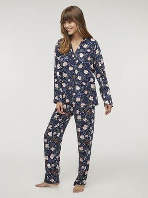 Пижама: рубашка и брюки | 5606249