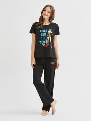 Пижама: футболка и брюки | 5606251