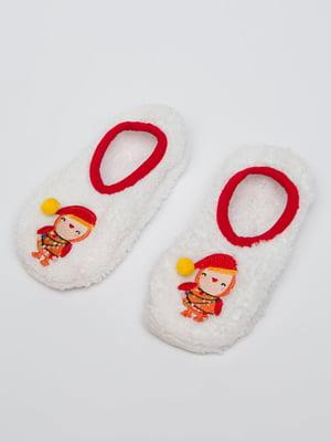 Шкарпетки слідки білі  | 5606257