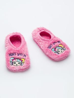 Шкарпетки слідки рожеві | 5606262