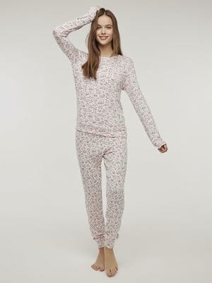Пижама: лонгслив и брюки | 5606263