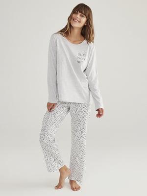 Пижама: лонгслив и брюки | 5606265