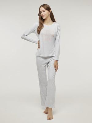 Пижама: лонгслив и брюки | 5606266