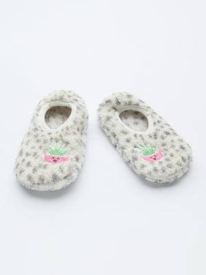 Шкарпетки слідки сірі  | 5606269