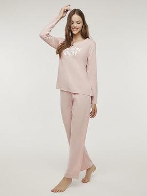 Пижама: лонгслив и брюки | 5606270
