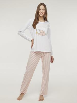 Пижама: лонгслив и брюки | 5606271