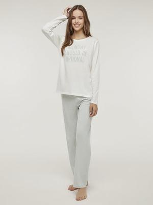 Пижама: лонгслив и брюки | 5606275