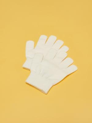 Рукавички білі | 5595391