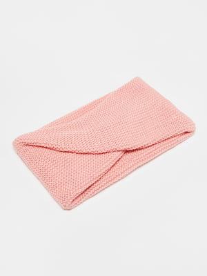 Шарф розовый | 5605243